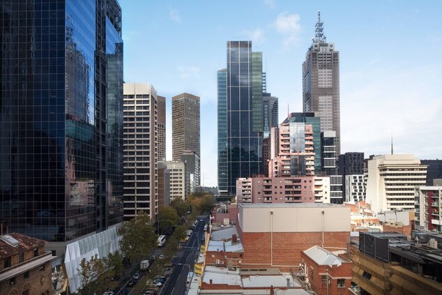 Melbourne Marriott Guest Room View