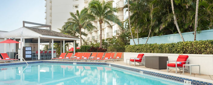 Miami Marriott Pool