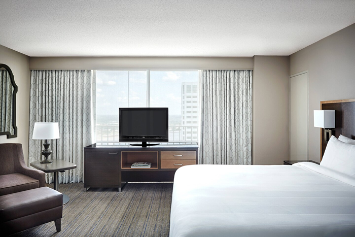 New Orleans Marriott King Executive Room