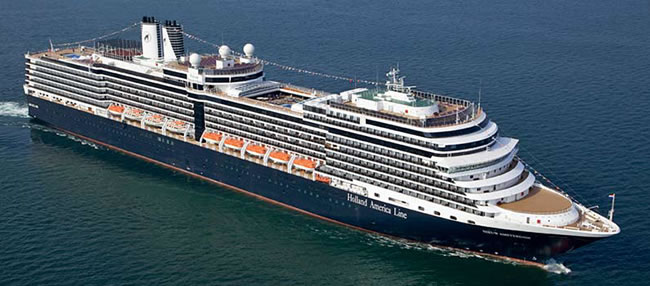Holland America Line's Right Sized ms Nieuw Amsterdam