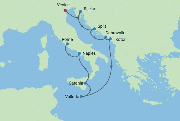 Damatian Coast & Italy