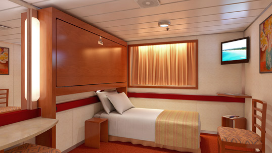 Interior Upper/Lower Stateroom, 1A