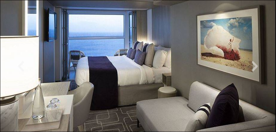 Edge Stateroom with Infinite Veranda, E1