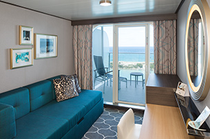 Oceanview with Large Balcony, 2C
