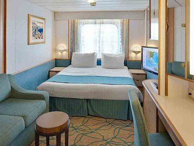 Spouse/partner Not Attending Conference: Oceanview Stateroom, (2N)