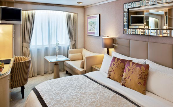 Deluxe Stateroom with Large Picture Window, E2