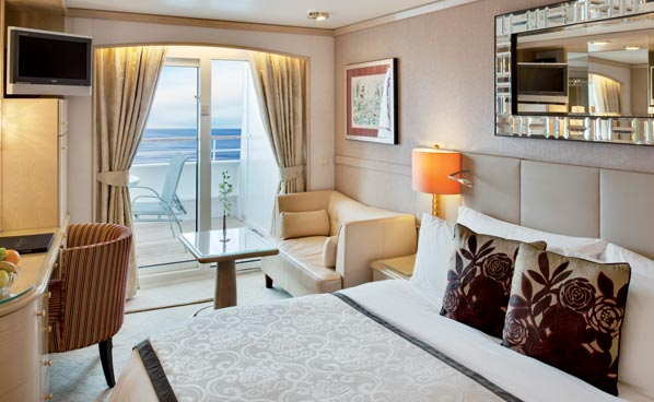 Deluxe Stateroom with Verandah, A3