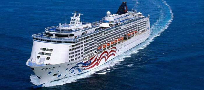 Norwegian Cruise Lines's One of a Kind  NCL's <em> Pride of America</em>