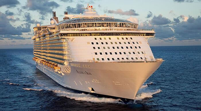 Royal Caribbean's <em>Allure of the Seas</em>