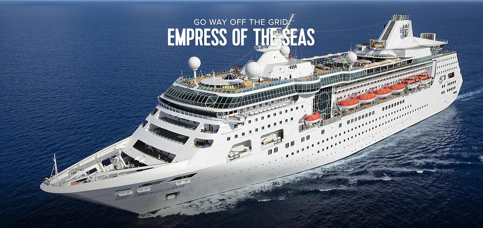 Royal Caribbean's <em>Empress of the Seas</em>