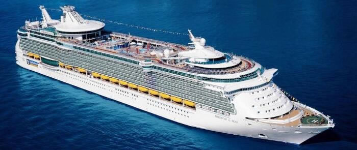 Royal Caribbean's <em>Freedom of the Seas</em>