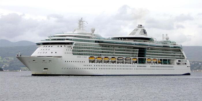 Royal Caribbean's <em>Jewel of the Seas</em>
