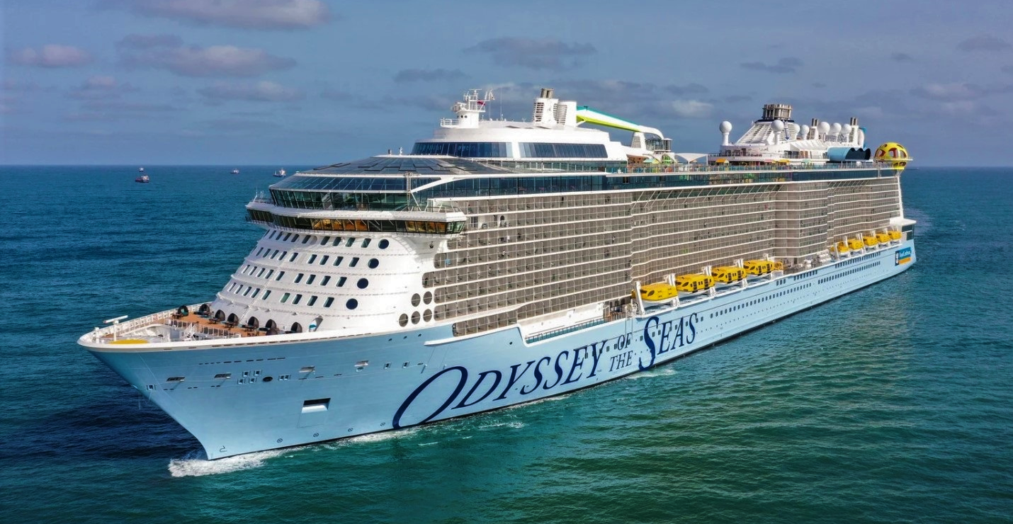 Royal Caribbean's <em>Odyssey of the Seas</em>