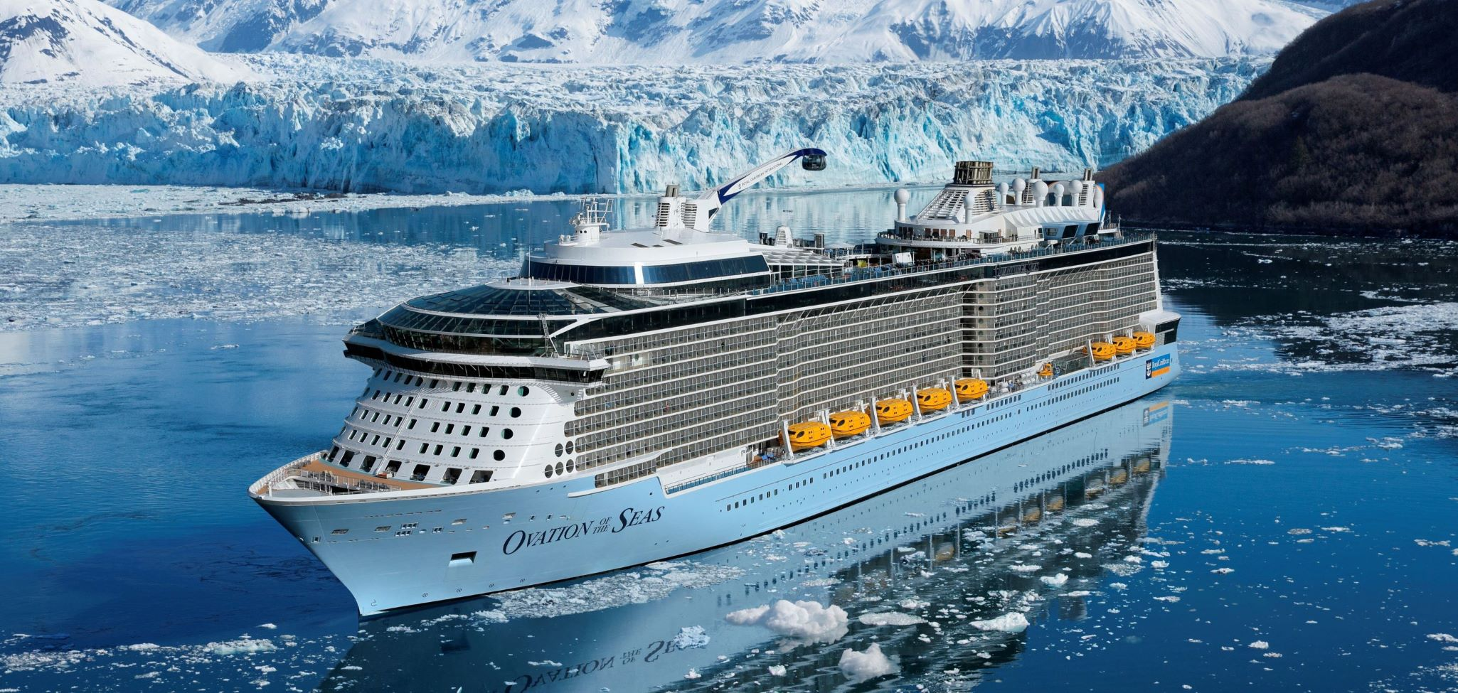 Royal Caribbean's <em>Ovation of the Seas</em>