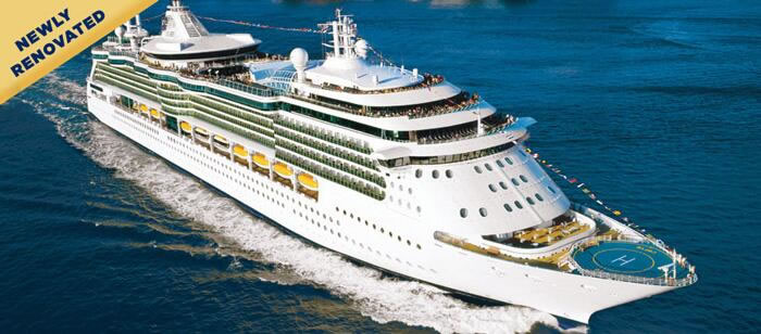 Royal Caribbean's Romantic Serenade of the Seas