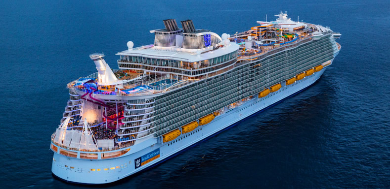Royal Caribbean's <em>Symphony of the Seas</em>